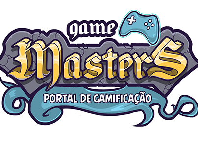 Logo e Identidade - Game Masters