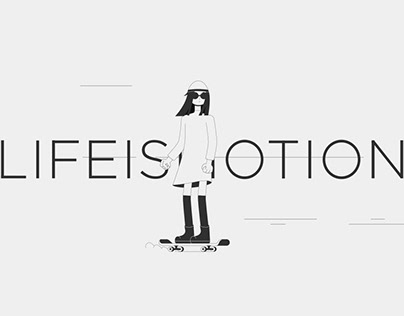 LIFE IS MOTION. CHARACTER ANIMATION