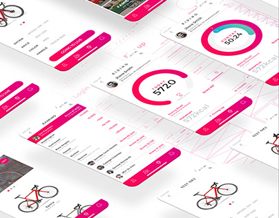 TRAVEL CYCLING - UI/UX