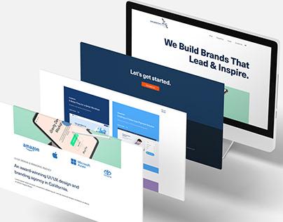 Web Design Company Homepage Design