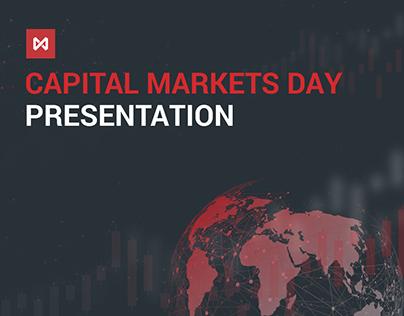 Capital Markets Day Presentation