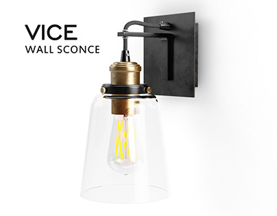 VICE wall sconce