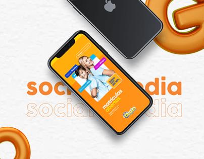 Social Media | Grupo Educacional Opção