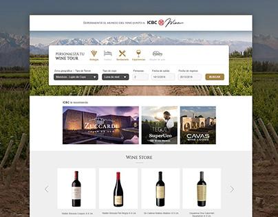ICBC Wine Web
