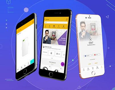 CULT Mobile App   e-commerce