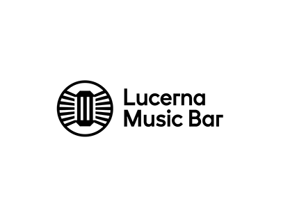 Lucerna Music Bar – visual identity