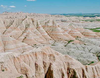 Badlands National Park, SD (part of a series)