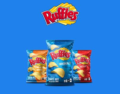 Ruffles Social Media Advertisement