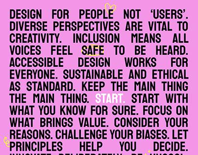 Personal Design Manifesto