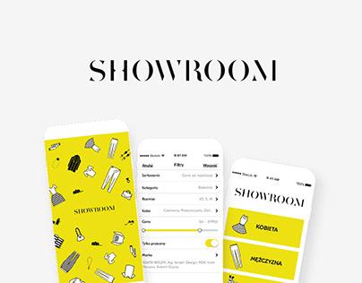 SHOWROOM mobile app – fashion e-commerce