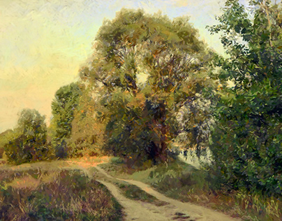 The road by the river (Fishing road)
