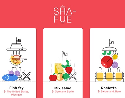 SHA-FUE : Share food culture in Refrigerator screen