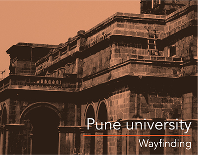 Pune University - Wayfinding