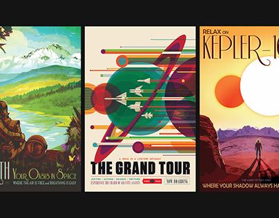 NASA Poster Series: Visions of the Future