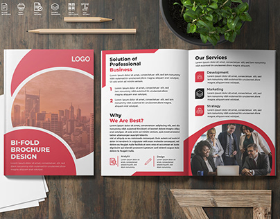 Business Tri-fold, Bi-fold, Brochure & Flyer Design