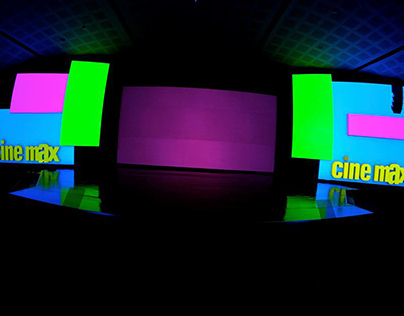 Cinemax UpFront 2014 - Video Mapping