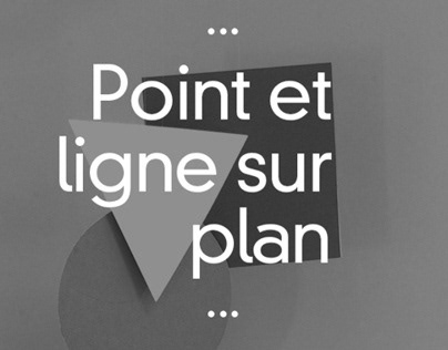 Point et Ligne sur Plan - Couverture de Livre