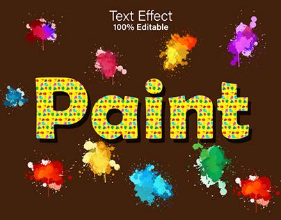 Creative Editable Text Effect