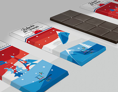 Packaging - Chocolate / Illustration