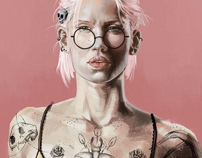 Pinky Lady