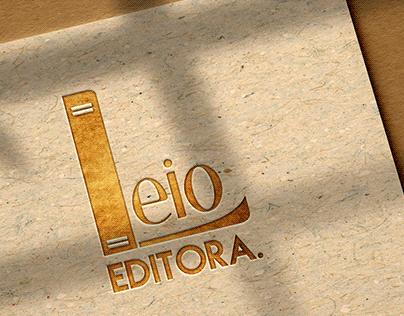 Logo editora Leio.