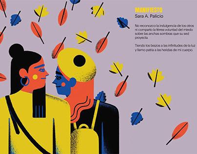 MUJER-ES, MUJER-ERES.Ilustraciones de Jose Antonio Roda