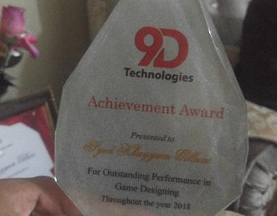 Annual Achievement Award 2018