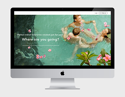 Travel Planning Website