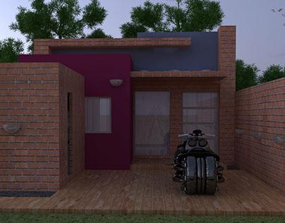 Cinema 4D House Project