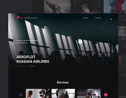 Сreative agency website