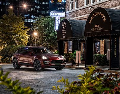 Porsche Macan CGI
