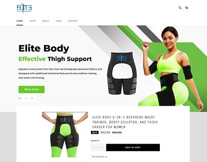 Elite Body - Web Design