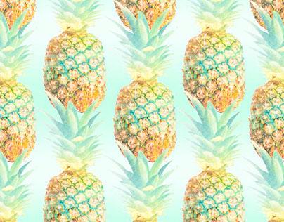 'Pineapples' Yardage S14 Womens
