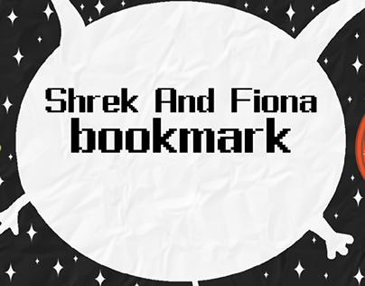 Bookmark Shrek and Fiona