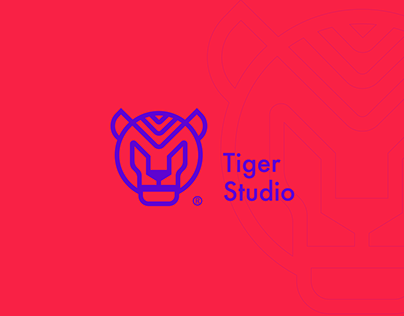 tiger studio brand design & identity design