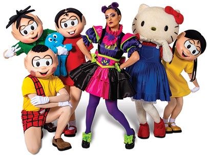 Turma da Mônica & Hello Kitty Musical Costume Design