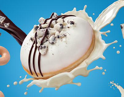 7Eleven/Krispy Kreme liquid CGI
