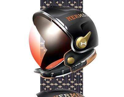 LUXURY Space Helmet NASA + HERMES