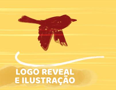Amanda Girão - Logo reveal bem-te-vi