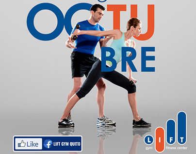 Lift Gym Fitness Center / Redes Sociales y marca