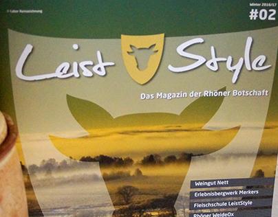 Leist Style – Das Magazin der Rhöner Botschaft