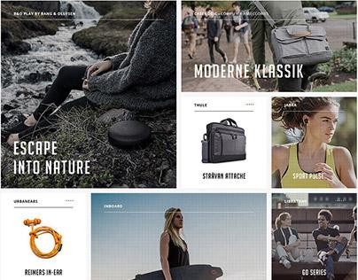 Website Redesign - Aqipa Gear Guru