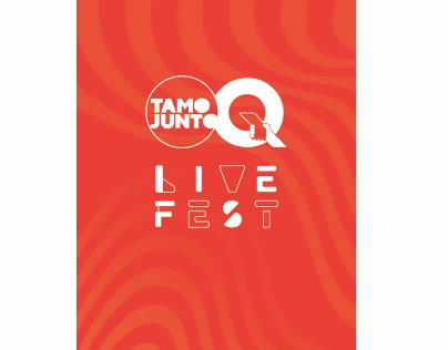 Qualicorp - Tamo Junto Live Fest (Stories - Artistas)