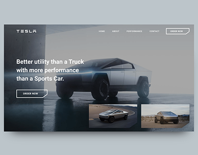 Web Design CyberTruck