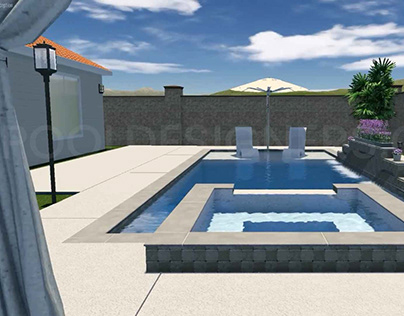 Fabulous 3D Pool Design