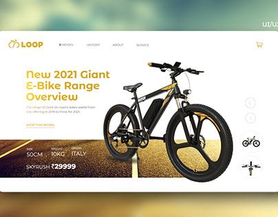 E-Bike Web Design