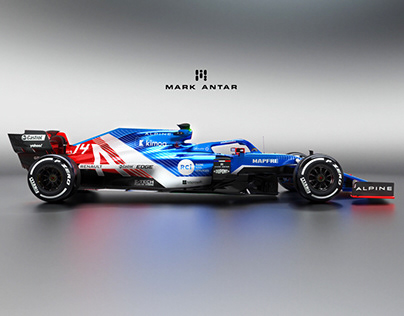 2021 Alpine F1 livery concepts