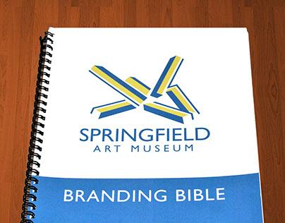 Springfield Art Museum Logo Brand Bible