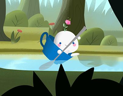 Sweet Adventure - Animation study
