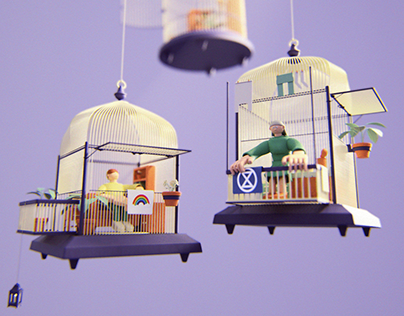 Homesafe cages